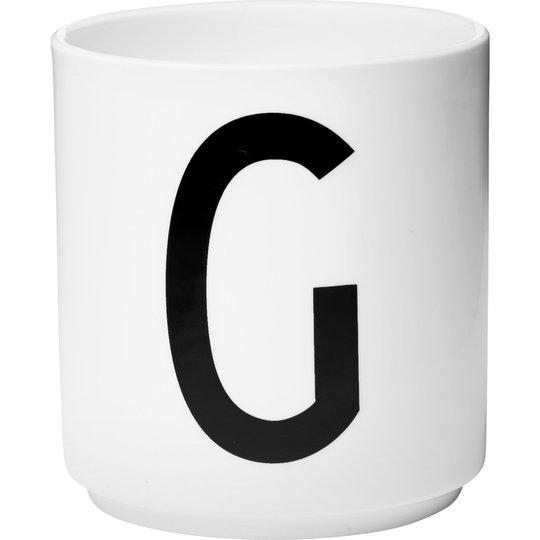 Design Letters Porslinsmugg Vit, G
