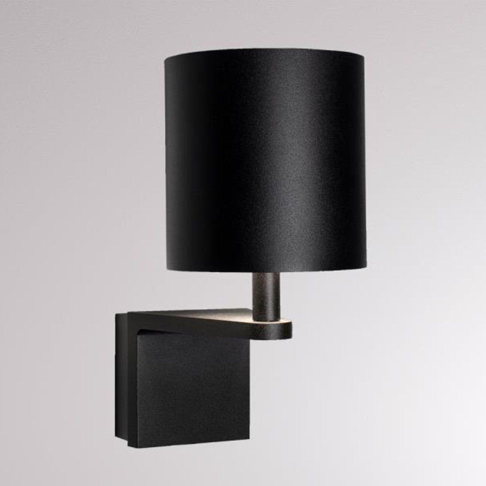 LOUM Waamp LED-vegglampe svart/gull