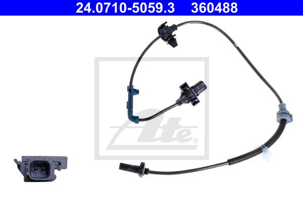 ABS-anturi ATE 24.0710-5059.3