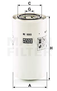 Polttoainesuodatin MANN-FILTER WK 9065