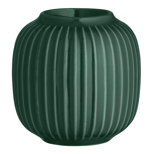 Kähler Design - Hammershøi Ljuslykta 9 cm Grön