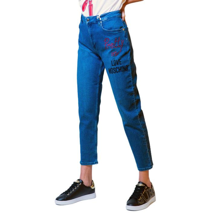 Love Moschino Women's Jeans Blue 175807 - blue w26