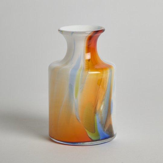 Holmegaard - Flerfärgad Vas i Glas, Holmegaard