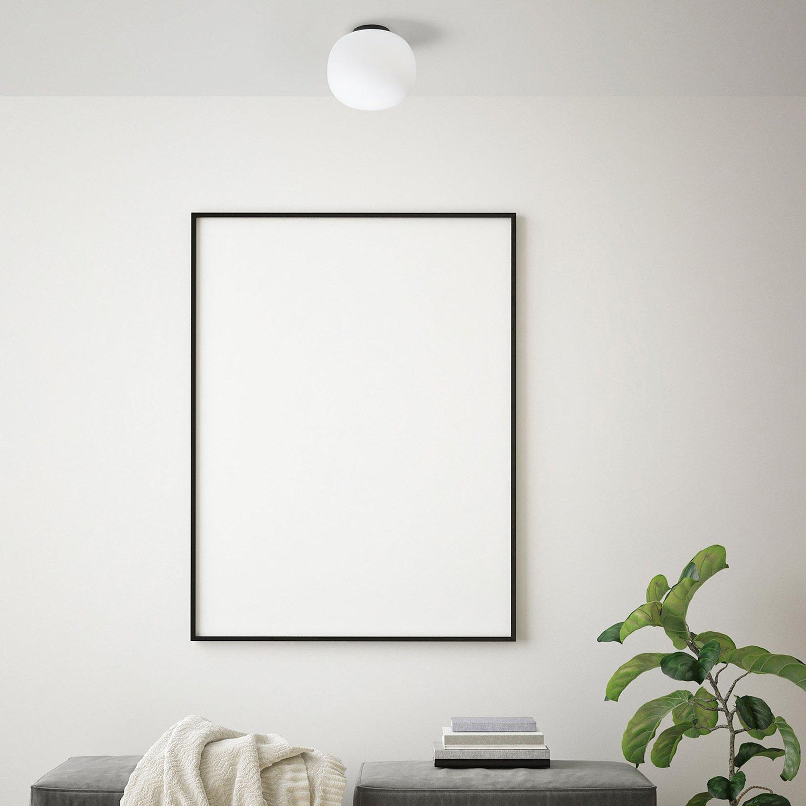 Taklampe Bombo av melkeglass Ø 30 cm