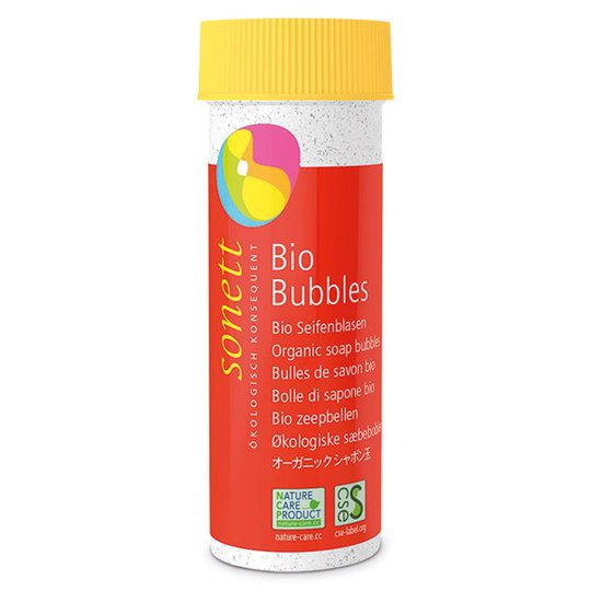 Sonett Ekologiska Såpbubblor, 45 ml