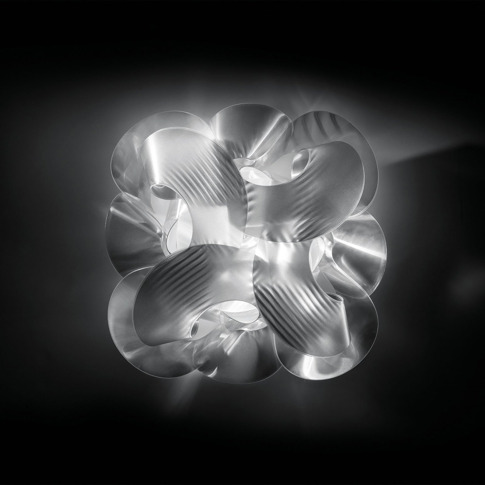 Slamp Fabula designertaklampe, stor