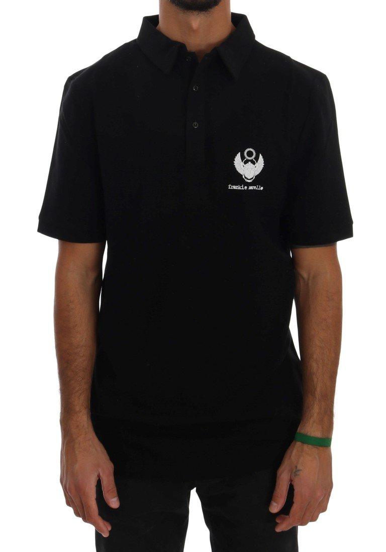Frankie Morello Men's Polo Shirt Black TSH1362 - L