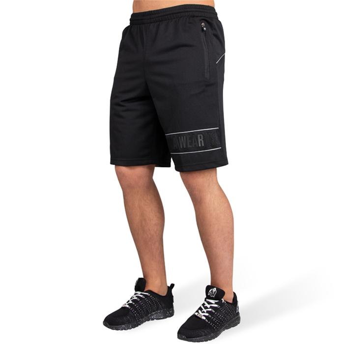 Branson Shorts, Black/Grey