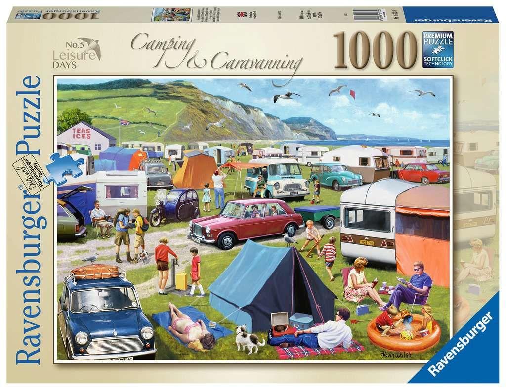 Ravensburger Pussel Camping & Karavanande, 1000 Bitar