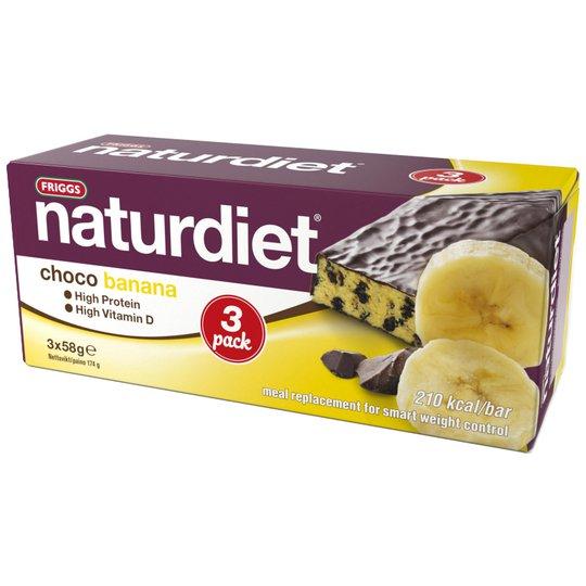 """Mealbar """"Choco & Banana"""" 3 x 58g - 62% rabatt"""