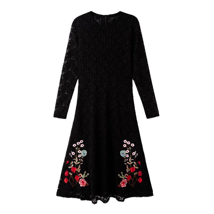 Desigual Women's Dress Black 180041 - black XS