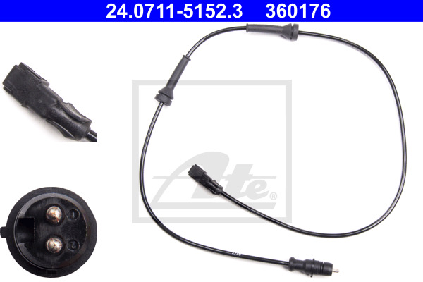 ABS-anturi ATE 24.0711-5152.3