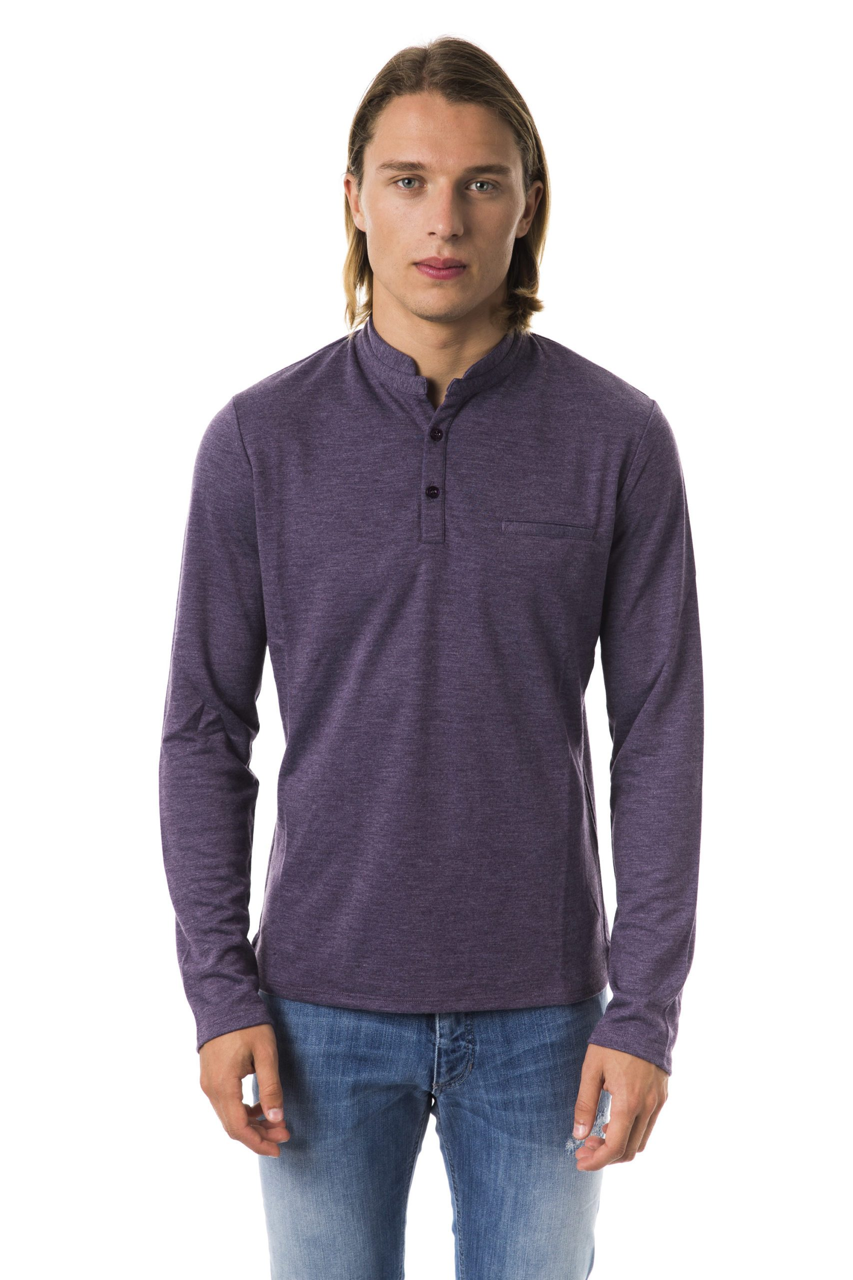 Byblos Men's Polo Shirt Violet BY994436 - S