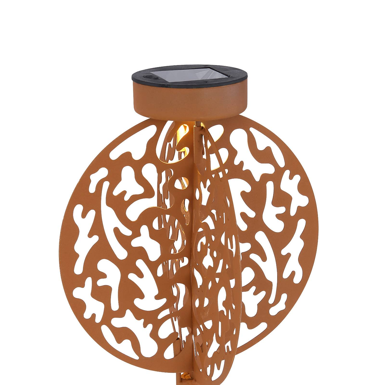 Aurinkokäyttöinen LED-koristelamppu 36610R 20x20cm