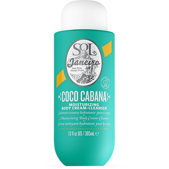 Coco Cabana Moisutrizing Body Cream-Cleanser, 385 ml Sol De Janeiro Vartaloemulsiot