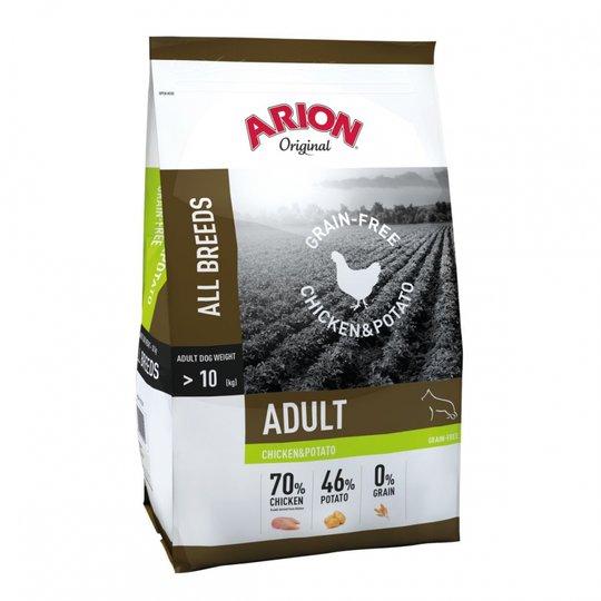 Arion Dog Adult All Breeds No Grain Chicken & Potato 12 kg