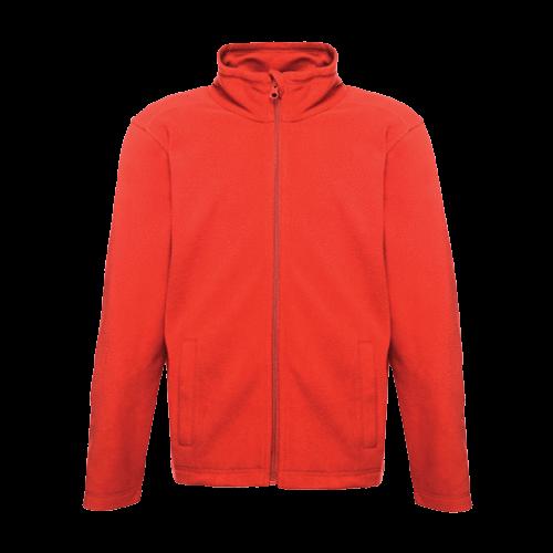 "Regatta Kid's Brigade II Full Zip Fleece Jacket Various Colours T_TRF515 - Classic Red Size 32"""