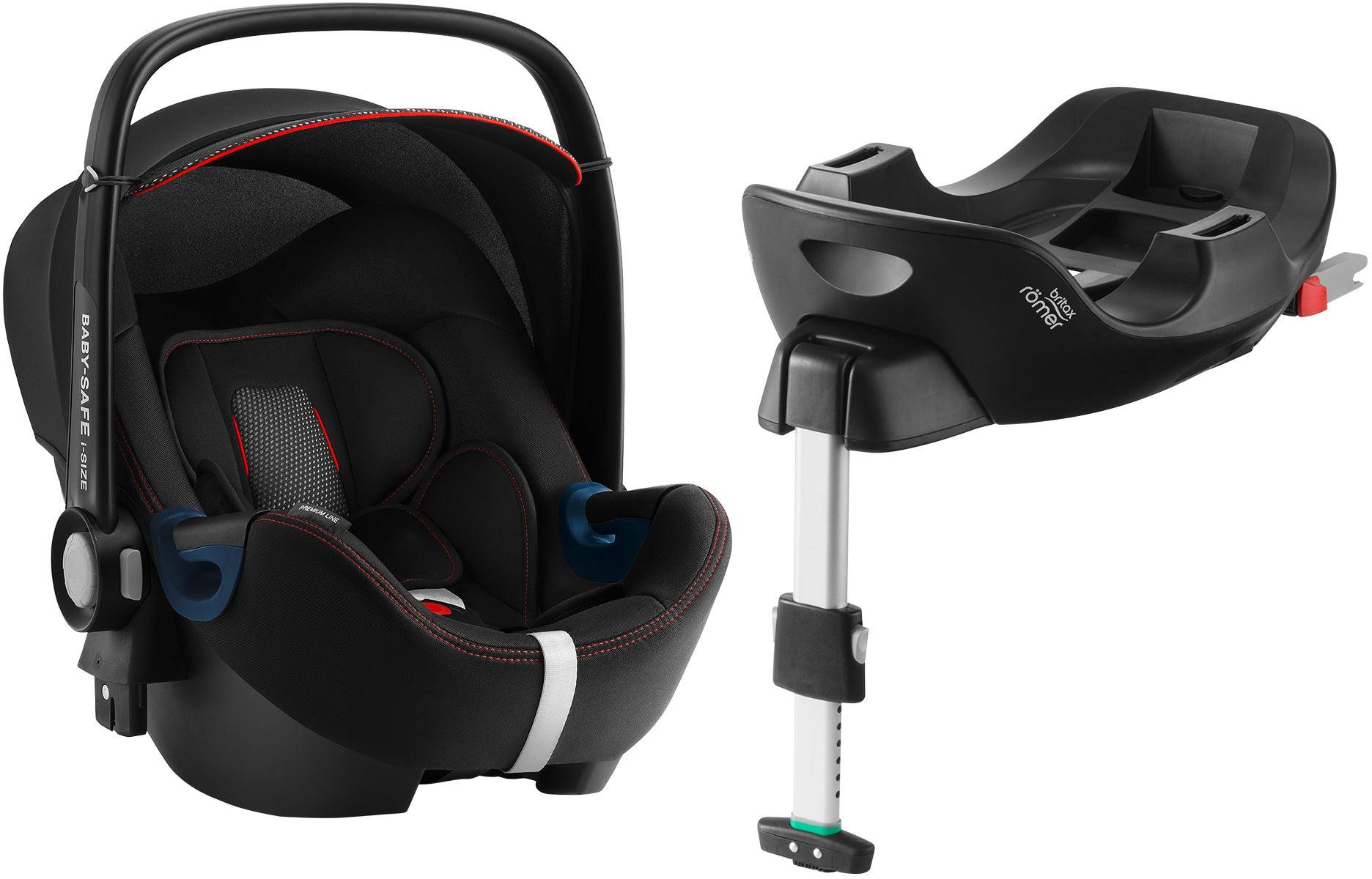 Britax Römer BABY-SAFE 2 i-SIZE Babyskydd Inkl Bas, Cool Flow Black