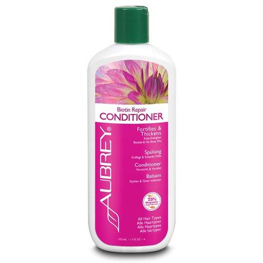 Aubrey Organics Biotin Repair Conditioner, 325 ml