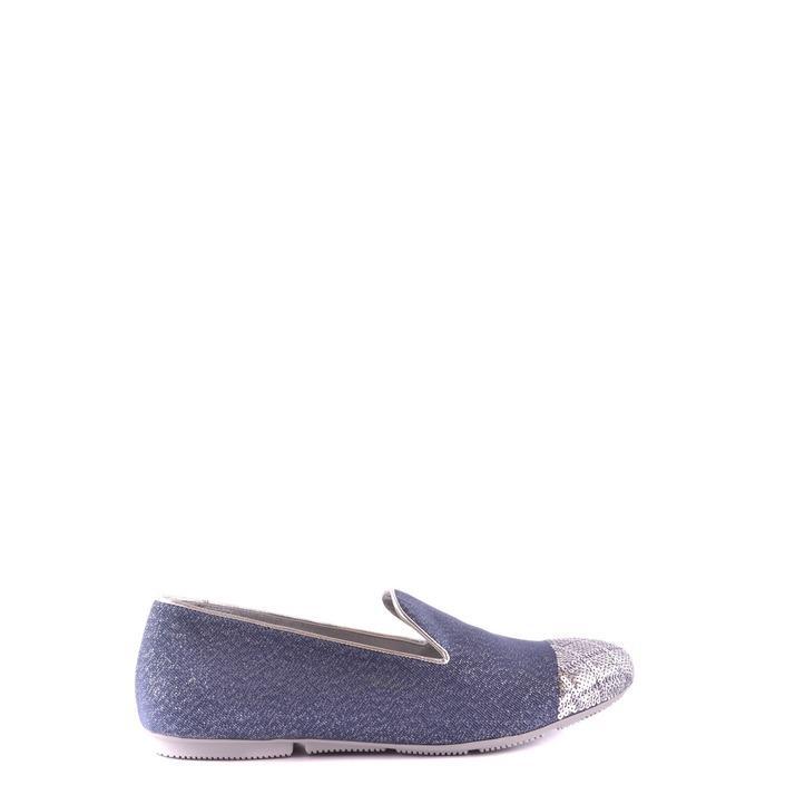 Hogan Women's Flat Shoe Blue 164266 - blue 38