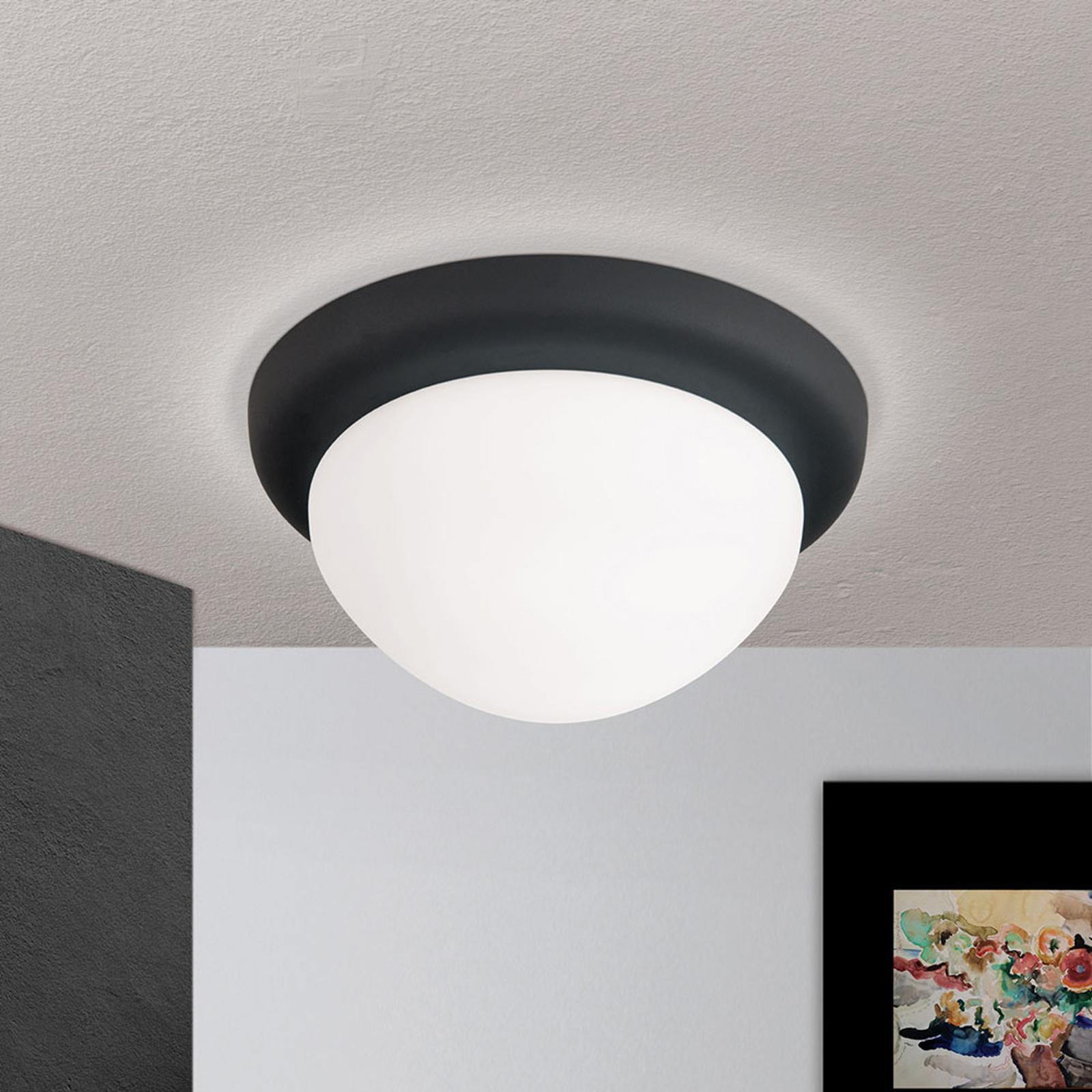 Kattovalaisin Classico, musta/valkoinen, Ø 22 cm