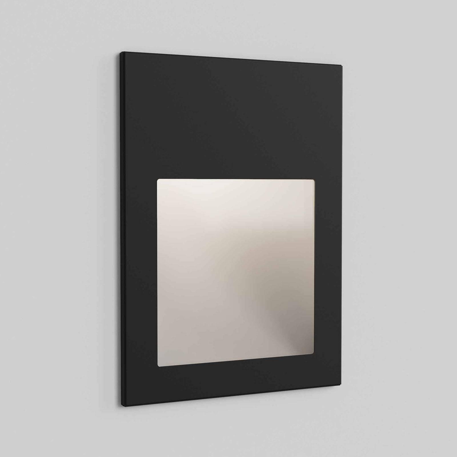 Astro Borgo 90 -seinäuppovalaisin, musta tekstuuri