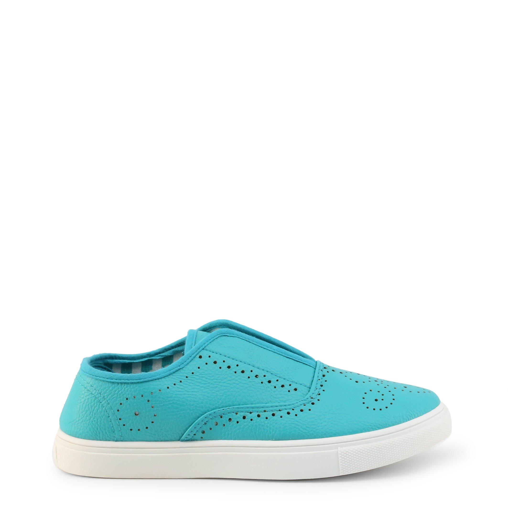 Roccobarocco Women's Slip On Shoe Various Colours RBSC1C701 - blue-1 EU 39