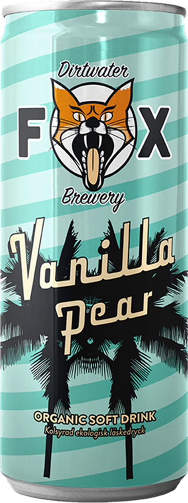 The Dirtwater Fox Vanilla Pear 25cl