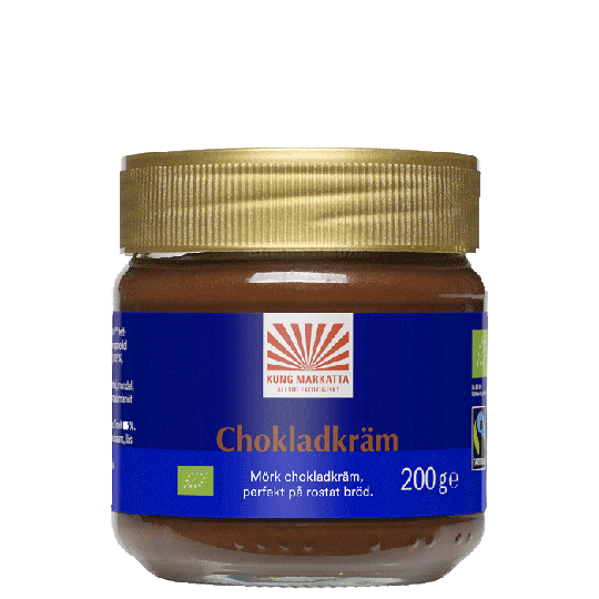 Chokladkräm Mörk choklad, 200 g