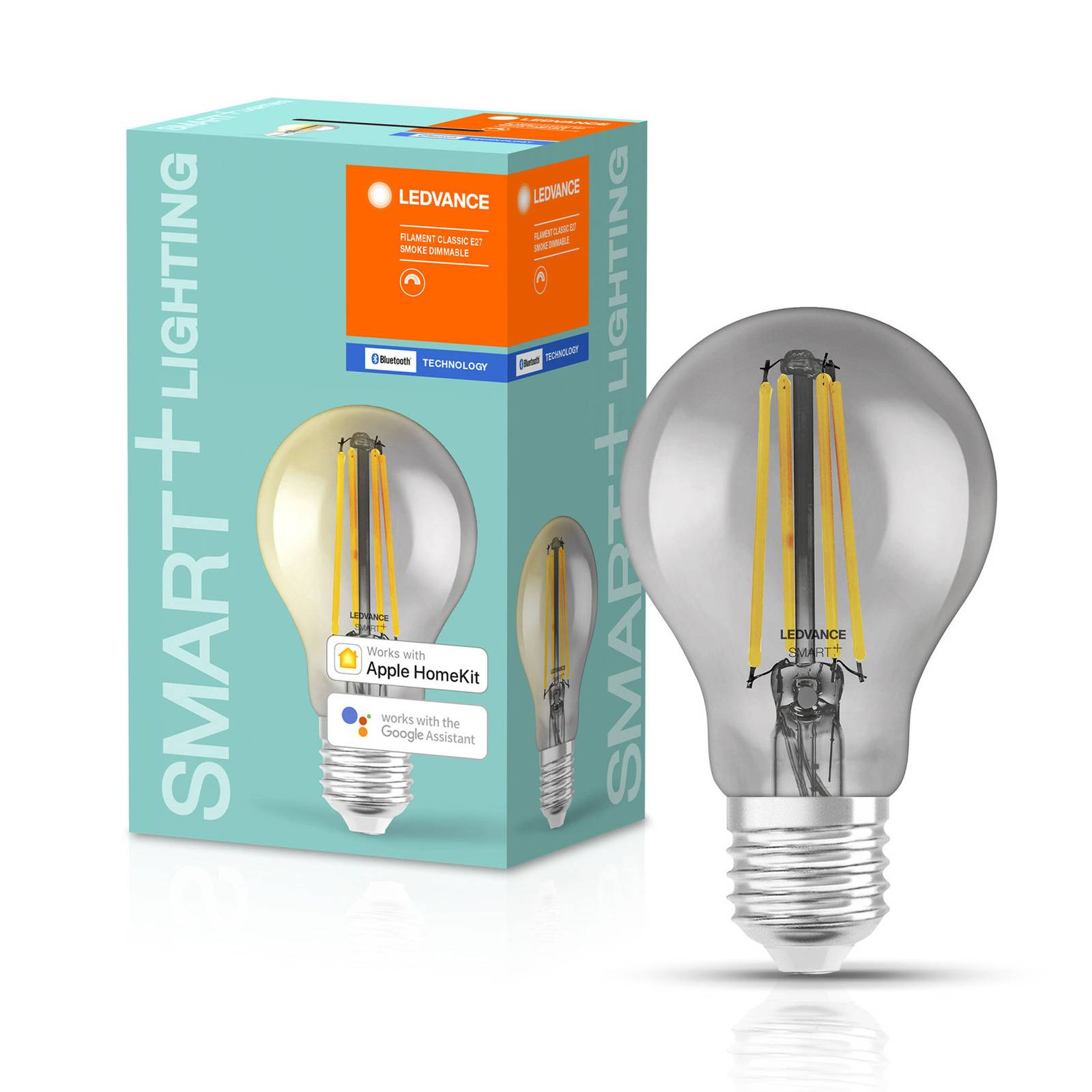 LEDVANCE SMART+ Bluetooth E27 LED Smoke 6W 2 700 K