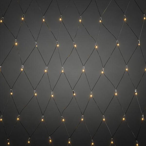 Konstsmide 4940-817 Lysnett startsett svart, 104 lyspunkter