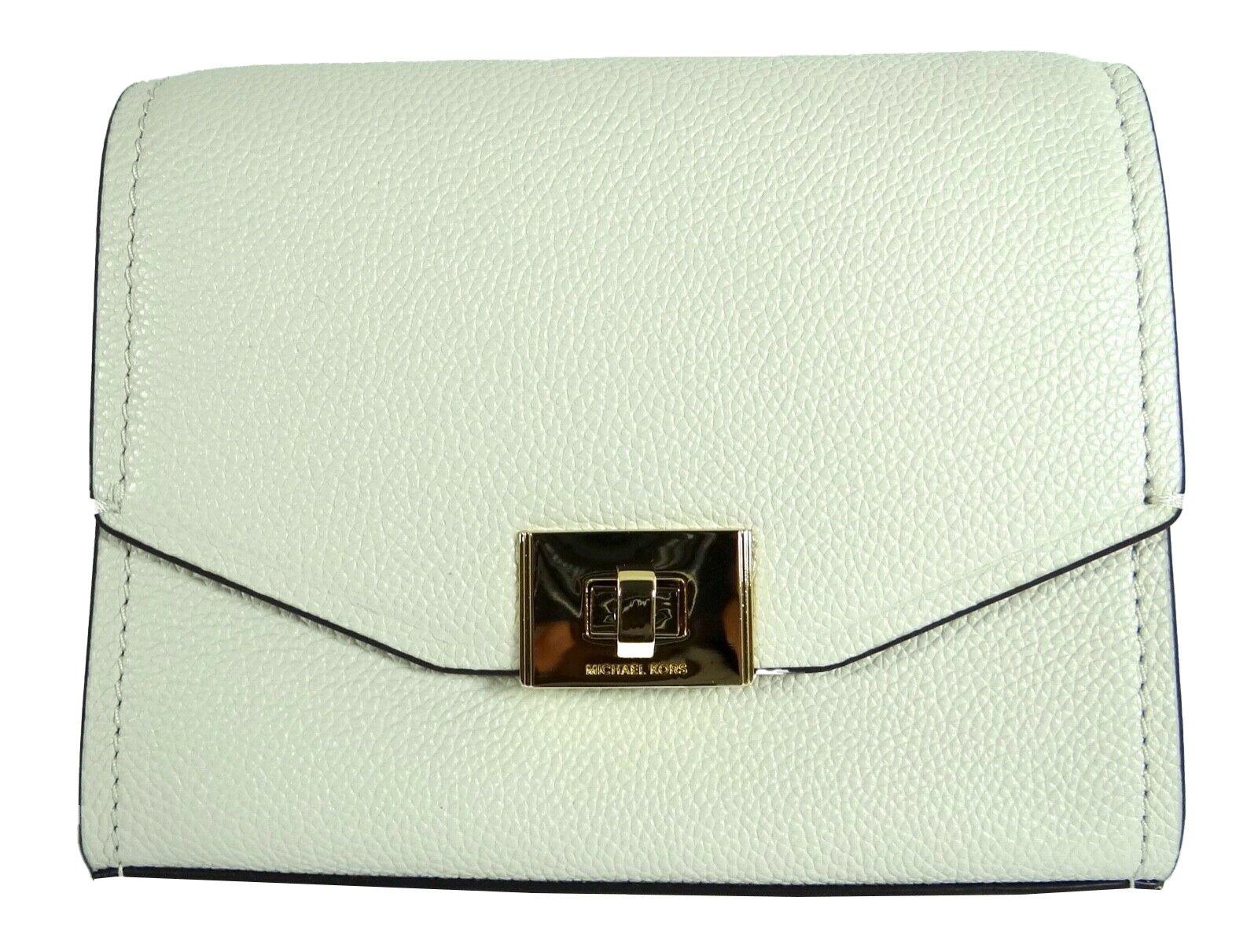 Michael Kors Women's Cassie Crossbody Bag White MK30363