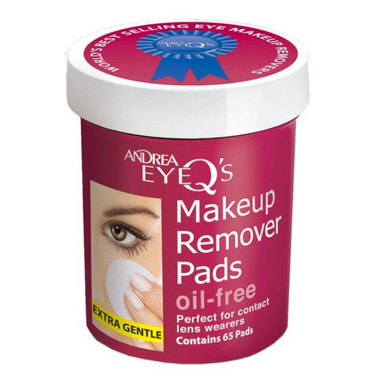 Eye Q Makeup Remover Pads Oil-Free, Andrea Kasvojen puhdistus