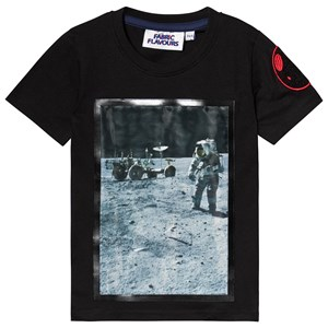 Fabric Flavours NASA Apollo T-shirt Svart 3-4 years