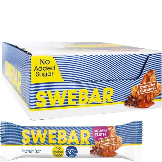 Proteinbars Crunchy Caramel 15-pack - 30% rabatt