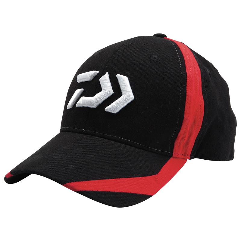 Daiwa Caps DC3 Svart og rød