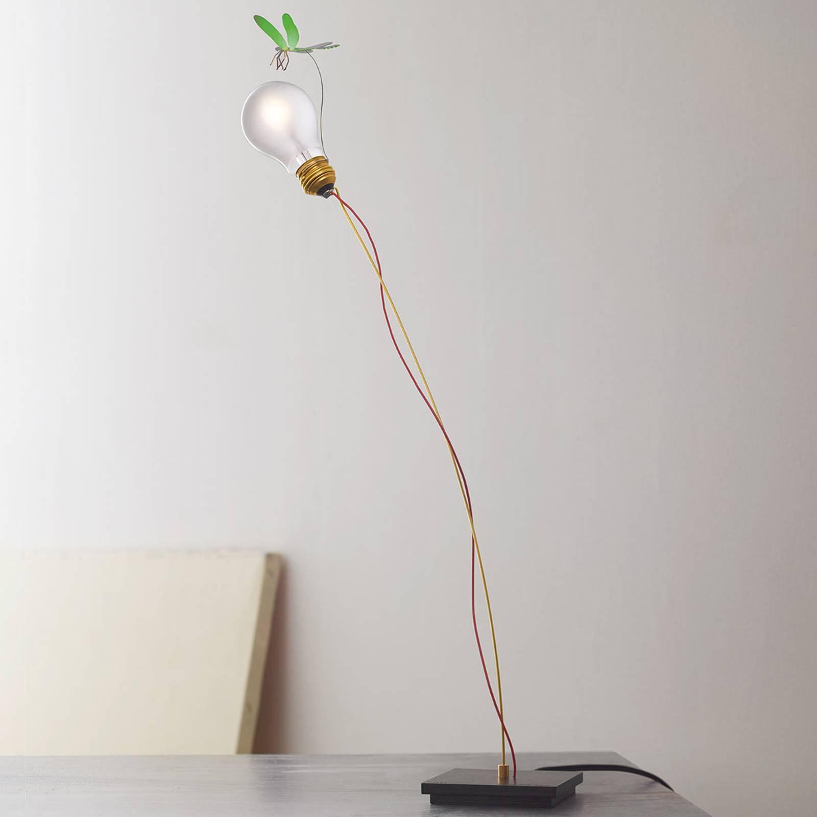 Bordlampe I Ricchi Poveri Bzzzz - grønn libelle