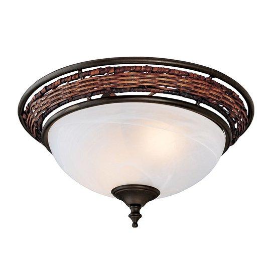 Hunter Wicker Bowl pintavalaisin kattotuulettimeen