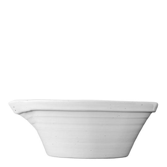PotteryJo - Peep Spillkum 35 cm Cotton White