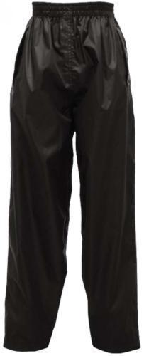 Regatta Kid's Tormbreak Waterproof Trouser Various Colours L_W808 - Black 3 to 4 Years
