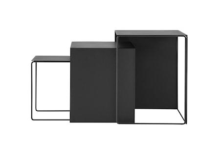 Cluster Tables (set of 3) - Black