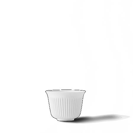 Tsè Tekopp 17 cl Hvit Porselen