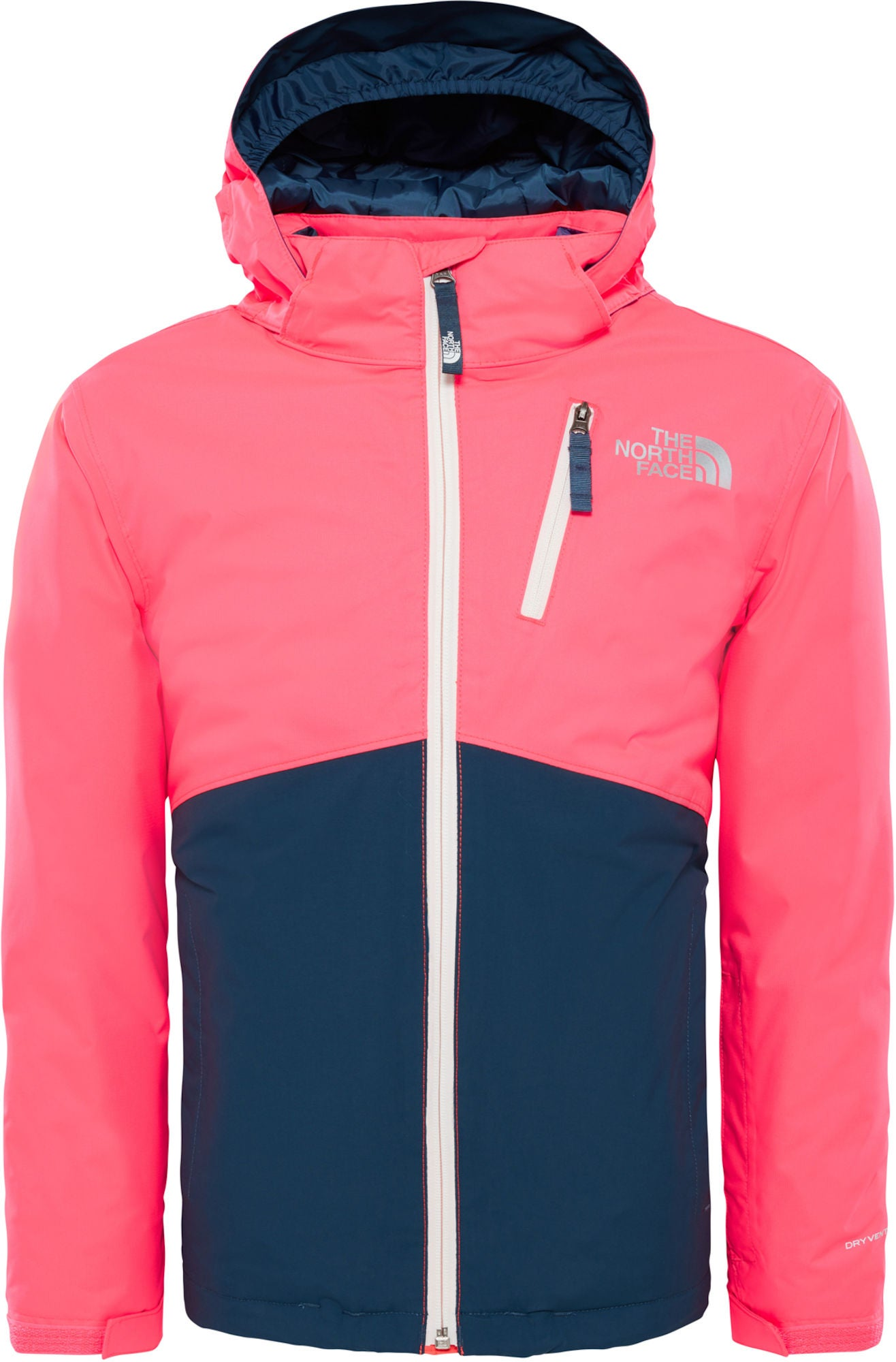 The North Face Snowquest Insulated Jacka Barn, Rocket Red L