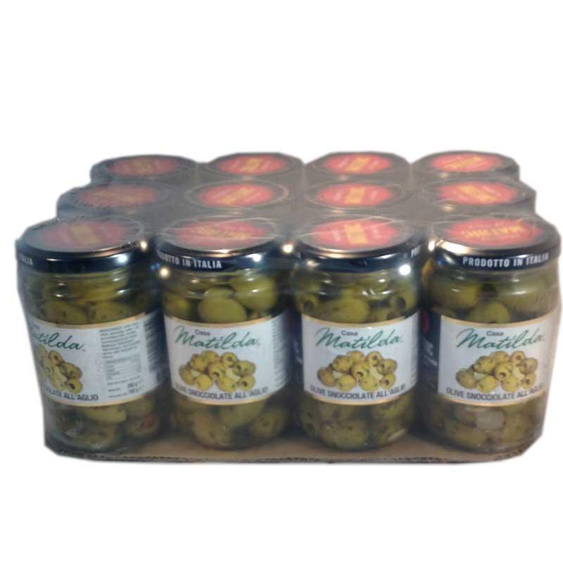 Hel platta- Vitlöksmarinerade oliver - 52% rabatt