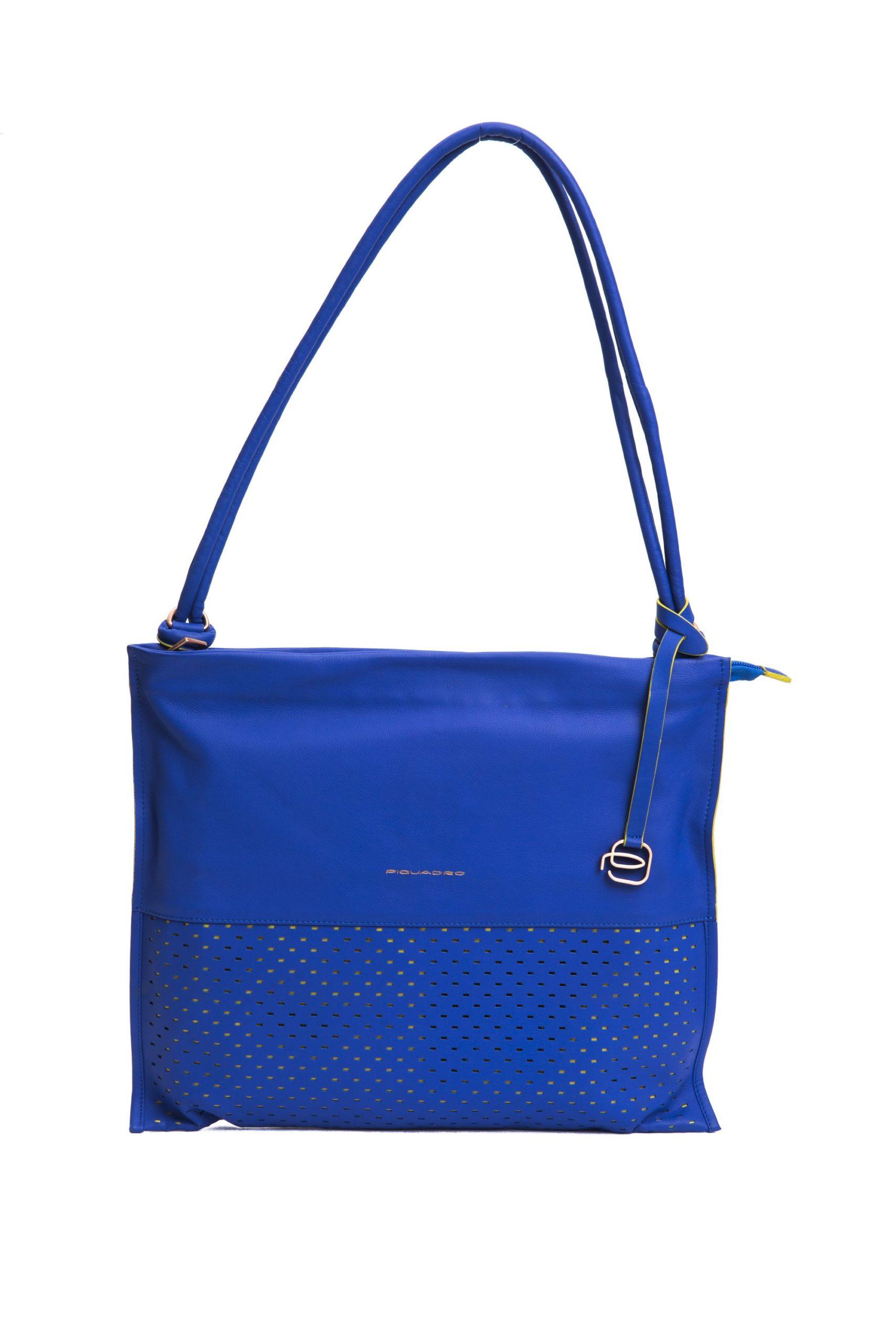 Piquadro Women's Shoulder Bag Blue PI1270765