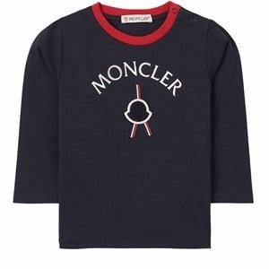 Moncler Maglia T-shirt Marinblå 9-12 mån