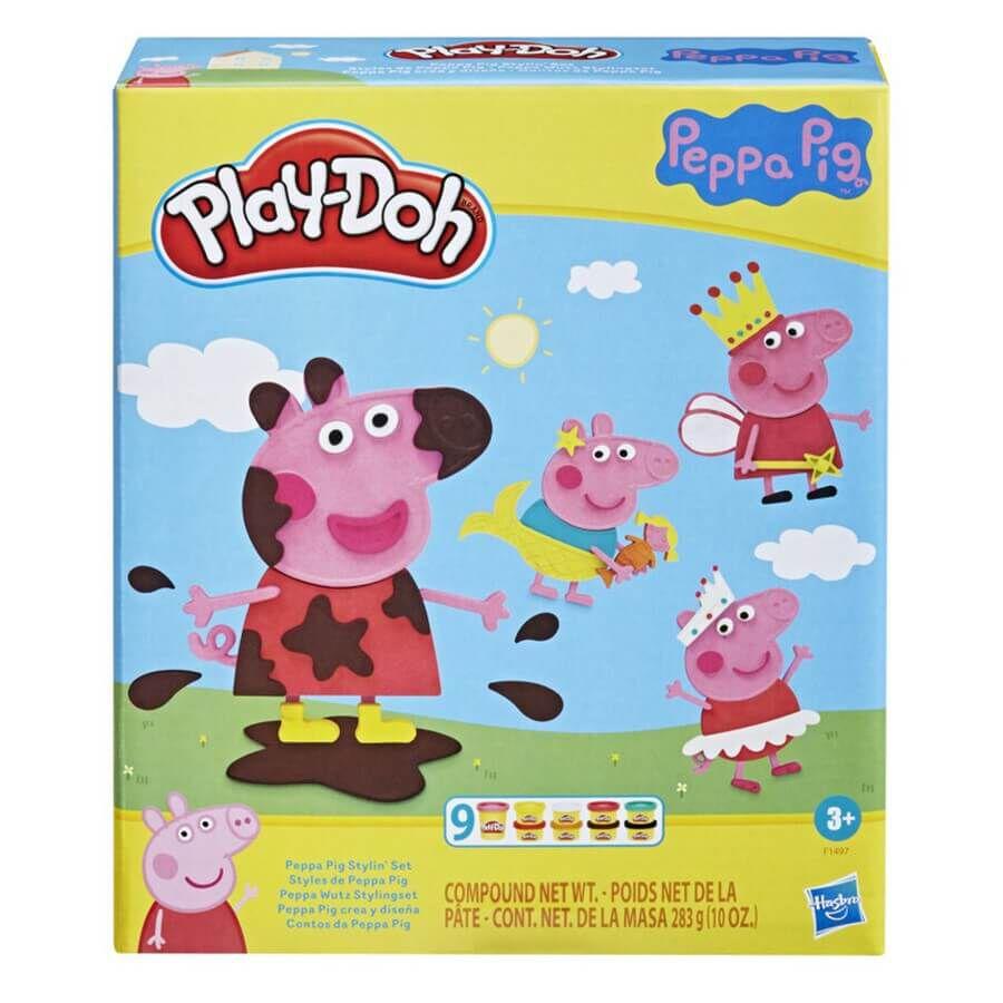 Play-Doh - Peppa Pig Stylin Set (F1497)