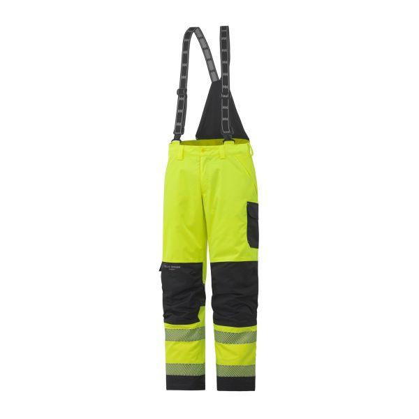 Helly Hansen Workwear York Työhousut huomioväri, keltainen/harmaa S