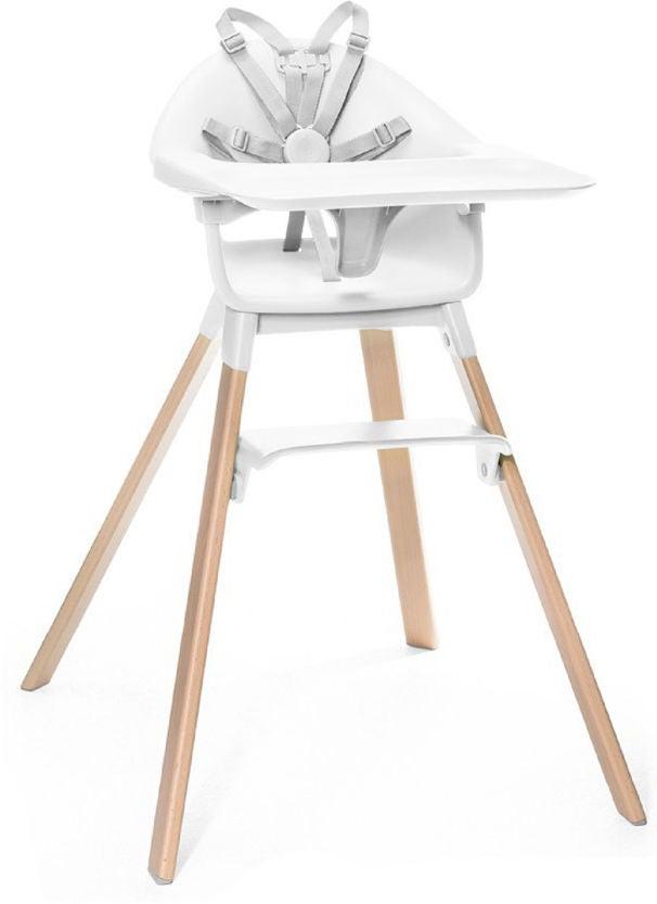 Stokke Clikk™ Matstol, White
