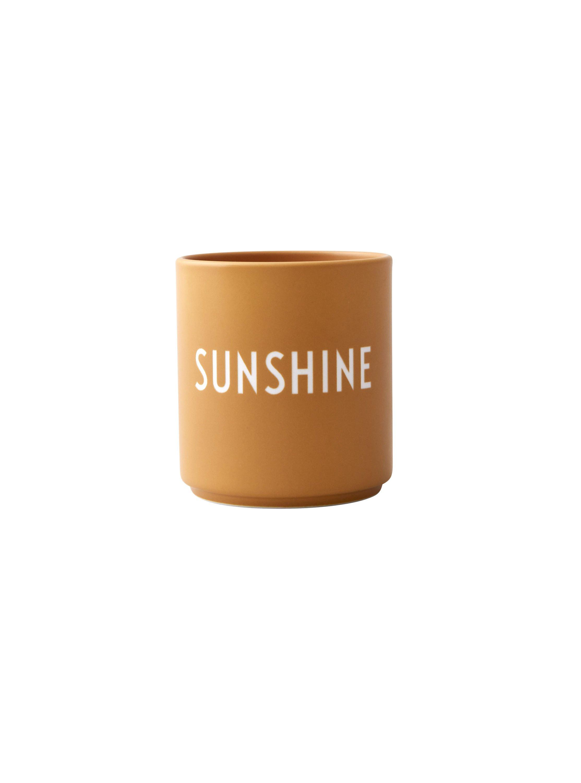Design Letters - Favourite Cup - Sunshine